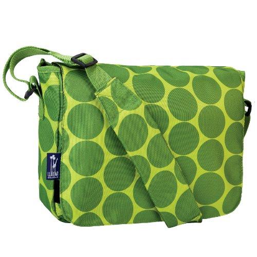 wildkin-big-dots-kickstart-messenger-bag-green