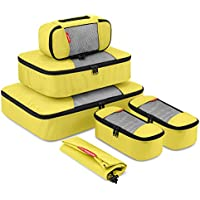 Gonex Travel Packing Cubes Luggage Organizers Different Set