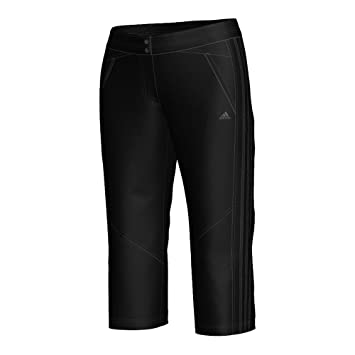 adidas Seperate S Clima Core Women's Trousers Woven Stretch 3/4 black  Size:32