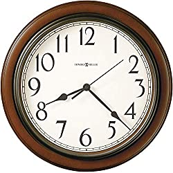 Howard Miller Kalvin Wall Clock 625-418 - Modern & Round with Quartz Movement