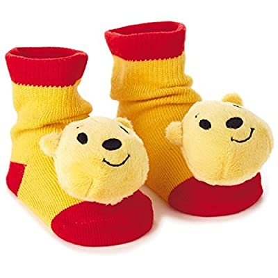 Winnie the Pooh itty bittys Baby Rattle Socks : Baby