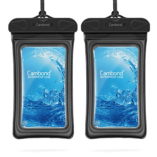 Floatable Waterproof Phone Pouch, Floating Water Proof Cell Phone Case for iPhone Xs Max/XR/X/8/8P/7/6S Galaxy up to 6.5
