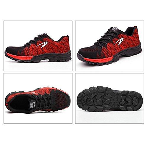 para Zapatos Antideslizantes Zapatos Usar de fáciles de Rojo Zapatos Pareja Transpirables de Dobles Elegante Verano cómodo y w4yrqwvWAP