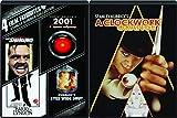 Stanley Kubrick Classics 5-Movie Set - The Shining, Barry Lyndon, 2001: A Space Odyssey, Eyes Wide Shut (Uncesored) & A Clockwork Otrange 5-DVD Bundle