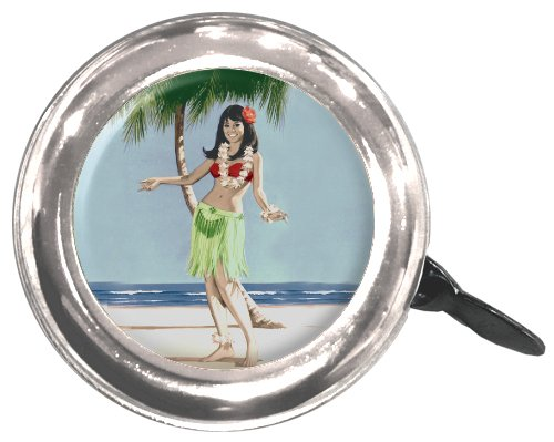 Clean Motion Hula Girl Bell
