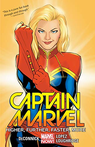 Captain Marvel Vol. 1: Higher, Further, Faster,
