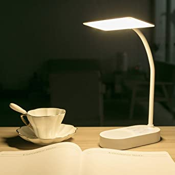 LED Tischlampe Schreibtischleuchte Bürolampe Leselampe Nachttisch Dimmbar