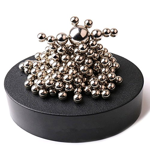 Zmi Magnetic Sculpture Desk Toy With Stainless Steel Ball Stress Relief Office Decoration   171Balls