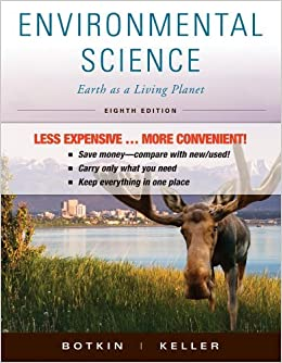 Environmental Science: Earth as a Living Planet by Daniel B. Botkin (2011-01-05)