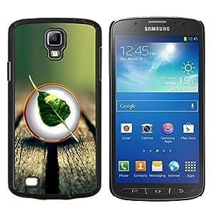 YiPhone /// Prima de resorte delgada de la cubierta del caso de Shell Armor - Naturaleza Madera Hoja Árbol - Samsung Galaxy S4 Active i9295