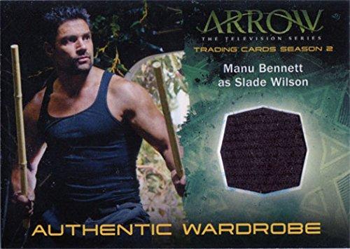 Arrow Slade Wilson Costume (Arrow Season 2 Costume Card M15 Manu Bennet as Slade Wilson)