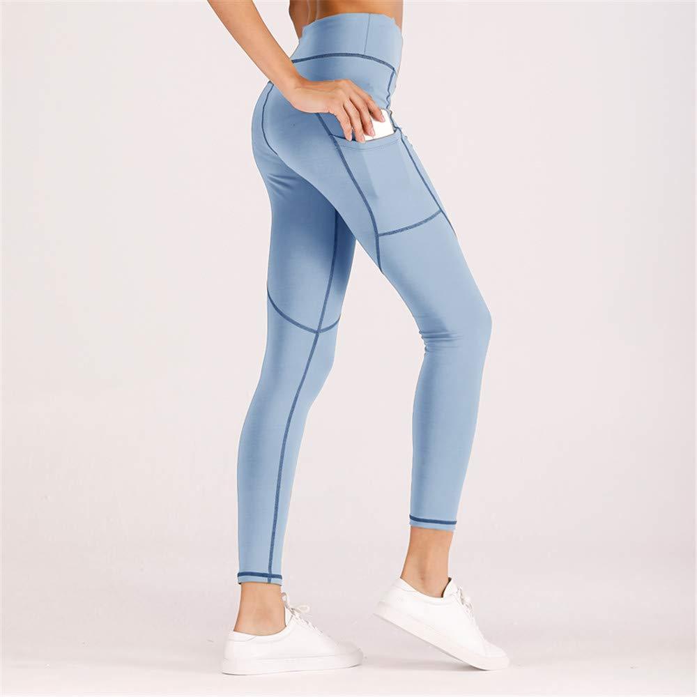 c27da45ff K BAO Women Fashion Yoga Pants Scrunch Booty Striped Waist Fitness Workout  Gym High Waist Camo Sport Capri Leggings at Amazon Women s Clothing store