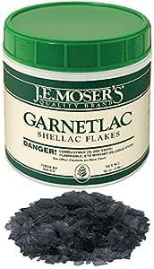 J.E. Moser's 848831, Finishes, Coatings, Garnetlac Dewaxed Shellac Flakes