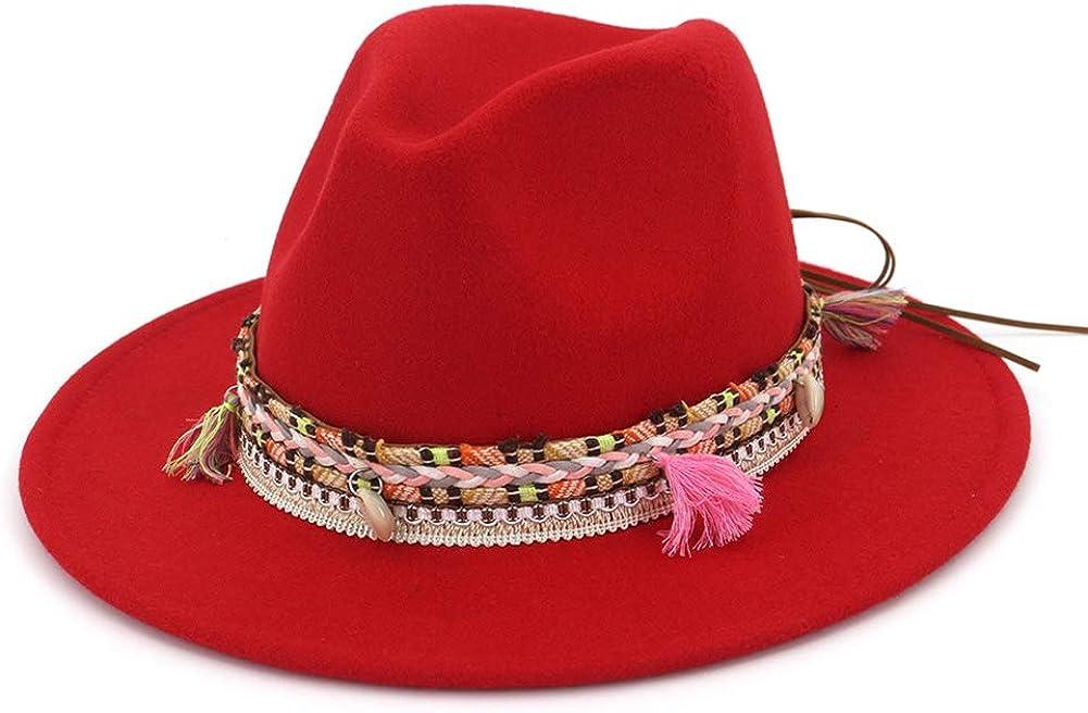 Women's Felt Fedora Hat...