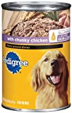 Pedigree Meaty Ground Dinner with Chunky Chicken, 22-Ounce (Pack of 12), My Pet Supplies