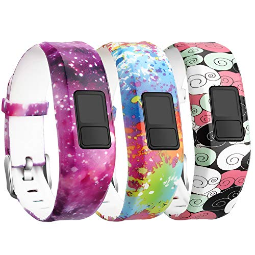 SKYLET for Garmin Vivofit 3 / Vivofit JR/JR.2 Bands, Soft Si