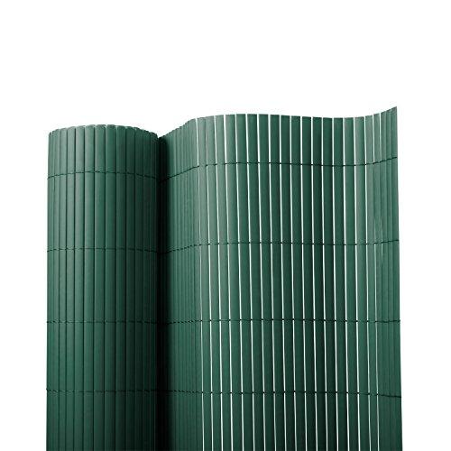 Sichtschutz Zaun für Außenbereich | grün | Größe wählbar (180x300cm)