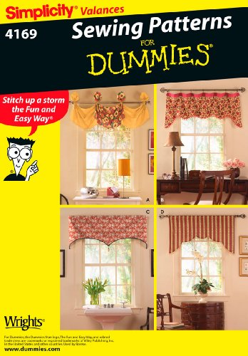 Simplicity Sewing Pattern 4169 Home Decorating, One Size Sewing Patterns Drapes