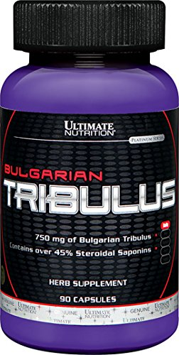Ultimate Nutrition Bulgarian Tribulus Capsules, 750 mg, 90-Count Bottles