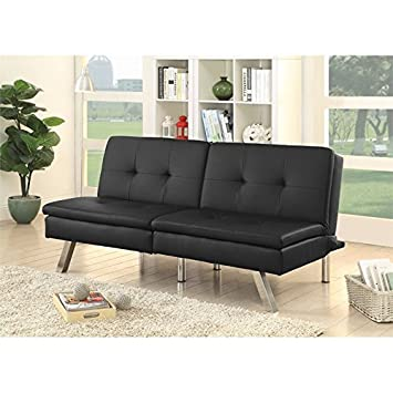 Amazon.com: Furniture of America Fosso - Mueble de piel ...