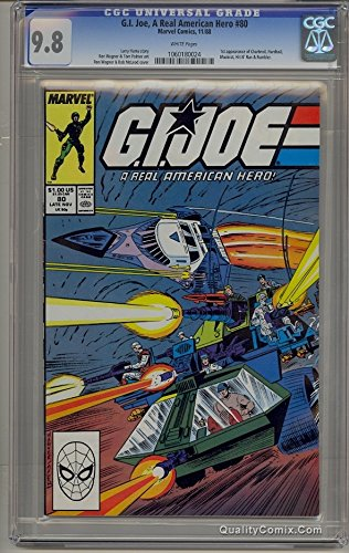 G.I. Joe A Real American Hero #80 CGC NM/M 9.8 White
