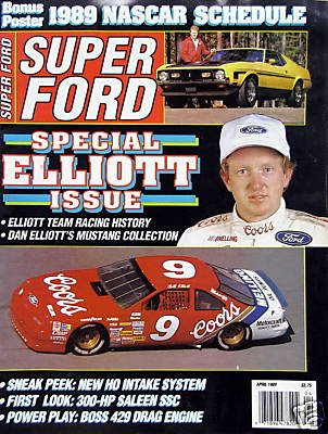 Aero Spoiler - Special Elliott Issue- April, 1989