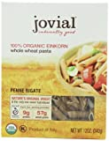 whole grain penne pasta - Jovial Organic Whole Grain Einkorn Penne Rigate, 12-Ounce Packages (Pack of 6)