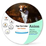 Dog Flea Treatment Collar - Flea and Tick Prevention for Dogs,Flea Collar for Dogs-Repellent Tick,Water-Resistant,8 Month Protection,One Size Fits All(New Version) (Dog-One Size Fits All)