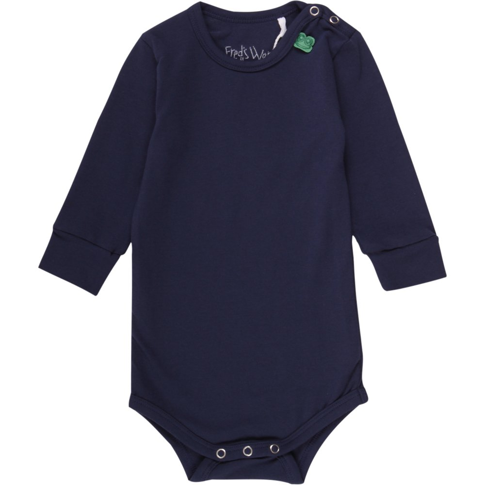 Fred's World by Green Cotton Baby-Jungen Formender Body Alfa L/Sl Noos 1582005500