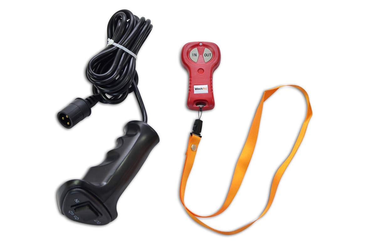 2721 kg Cabestrante el/éctrico con mando a distancia con mando a distancia 12 V