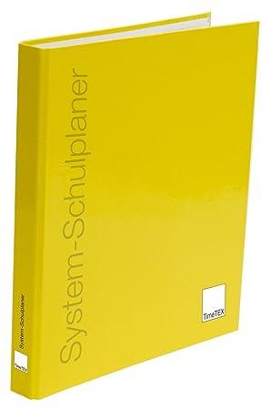 timetex Anillo libro de carpeta para sistema de schulplaner ...