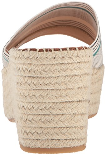 green Dolce elastic Espadrille Vita Sandal stripe Lada Wedge Women's xUFqwa