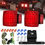 Kyпить AMBOTHER LED Boat Trailer Tail Lights Kit Submersible Tail Lamp Running Stop Turn Signal Brake Marker Reversing Backup Light for Truck RV Van Marine Pickup Bus Towing Vehicle DC12V ,Universal,2PCS на Amazon.com