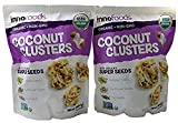 InnoFoods Coconut Clusters with Organic Super Seeds (Pumpkin; Sunflower & Chia Seeds) (Pack of 2 - 18 oz.)