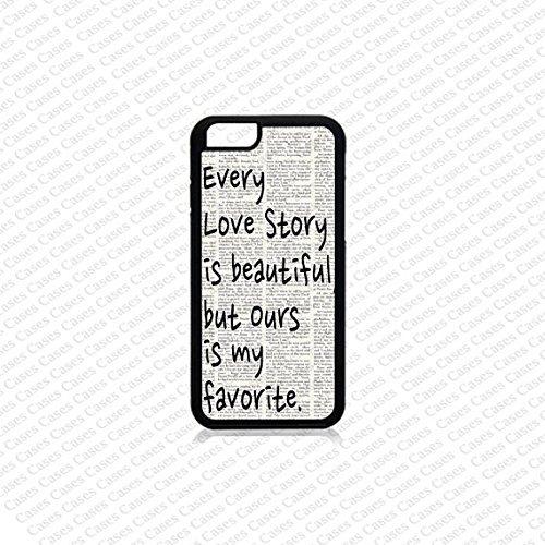Krezy Case iPhone 6 Case, iPhone 6 case,Love Story Quote iPhone 6 Case, Cute iPhone 6 Case, Unique iPhone 6 Case