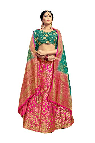 Da Facioun Indian Designer Partywear Ethnic Traditional Pink Lehenga Choli by Da Facioun