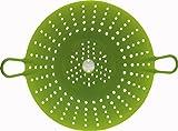 Chef'n Sleekstor VeggiSteam 8-1/2-Inch Silicone Steamer, Arugula
