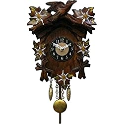 Alexander Taron Decorative Collectibles 0125-8QP - Engstler Battery-operated Clock - Mini Size with Music/Chimes