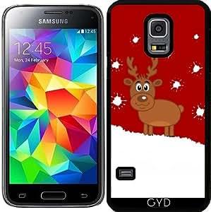 Funda para Samsung Galaxy S5 Mini - Un Ciervo De Navidad En La Nieve by zorg