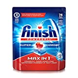 Finish Max in 1 Fresh 74 Tabs, Automatic Dishwasher Detergent Tablets