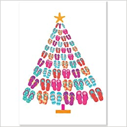 b5213af16 Flip-Flop Tree Large Boxed Holiday Cards (Christmas Cards