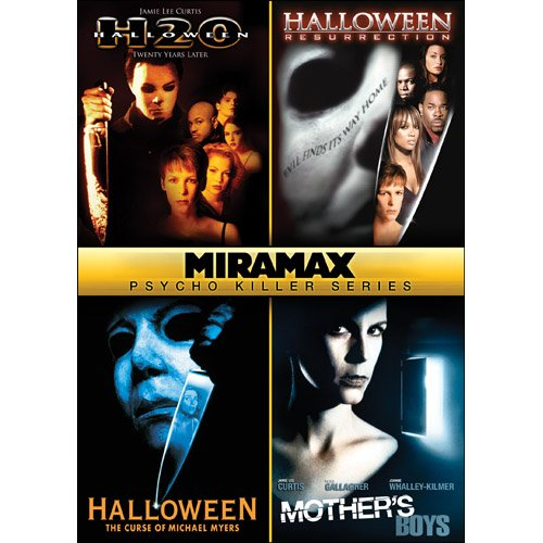 Halloween Michael Myers Collection Dvd (Miramax Psycho Killer Series: Halloween: H2O / Halloween: Resurrection / Halloween VI: The Curse of Michael Meyers / Mother's)