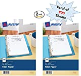 Avery Mini Filler Paper, 5.5 x 8.5 Inches, 200 Sheets (14230)
