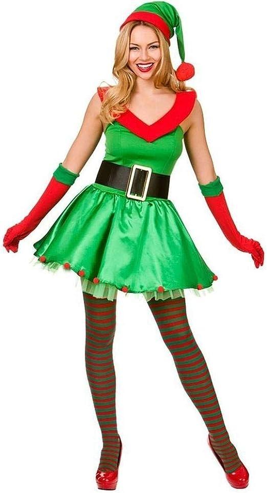 KAIDILA Navidad Disfraz Navidad Regalo Traje Atractivo del Partido ...