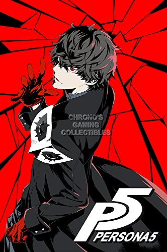 CGC Huge Poster GLOSSY FINISH - Persona 5 PS4 PS3 - EXT762 )