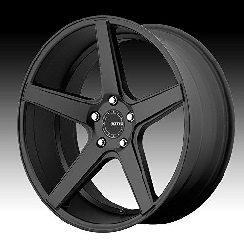 KMC KM685 DISTRICT Satin Black Wheel (20 x 8.5 inches /5 x 114 mm, 35 mm -