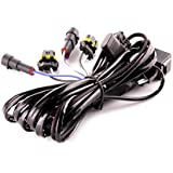 DDM Tuning Heavy Duty Single Relay HID Harness: Universal 9006 Inputs / Outputs, 1 Year Warranty-FBA