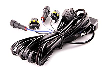 DDM Tuning Heavy Duty Single Relay HID Harness: Universal 9006 Inputs/Outputs, on