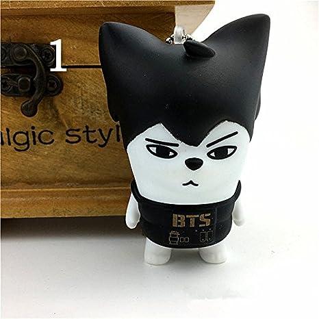 Amazon.com: pingjing coreano Youth Creative BTS vinilo balas ...