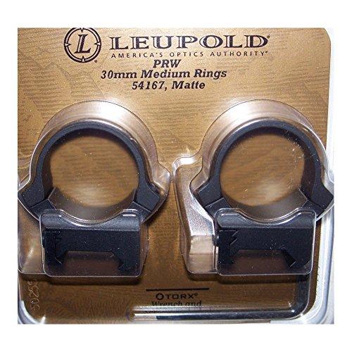 Prw 30mm Rings Medium Matte Leupold 54167